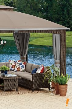 Shop the huge selection of patio furniture and outdoor furniture at Big Lots. Find the perfect new patio table, chairs, and more to fit your outdoor space. Outdoor Spaces, Outdoor Living, Outdoor Decor, Outdoor Ideas, Patio Furniture Covers, Outdoor Furniture Sets, Porch And Balcony, Outside Patio, Backyard Projects