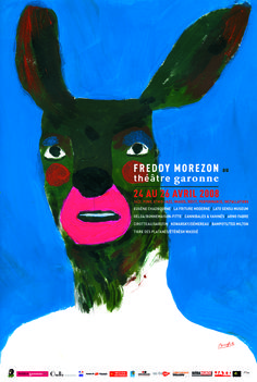 Bonnefrite – Affiche pour Freddy Moreson, Théâtre de la Garonne (2008)