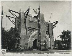 Milano - Esposizione internazionale 1906 - Padiglione della città di Sampierdarena - Esterno