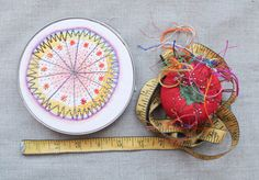 3 Month Color Burst Embroidery Sampler Subsription by dropcloth