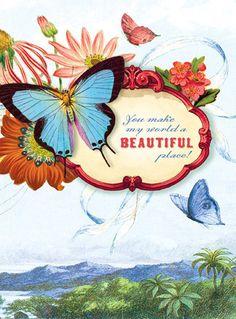 Cartolina - Cartolina card - Beautiful place! CC193