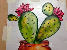 Fused Glass Art, Cactus, Fruit, Painting, Ideas, Bear Paintings, White Orchids, Decoration Crafts, Abstract Art