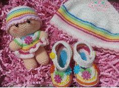 creacionesencrochet:: #crochet #babyshower #newborn #amigurumi #baby #regalo #crochetrd