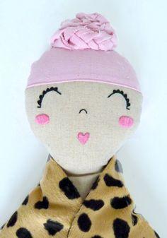 Mimi the fashionista doll by MiniBoheme on Etsy