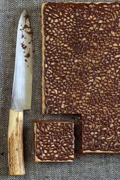 lace pattern brownie