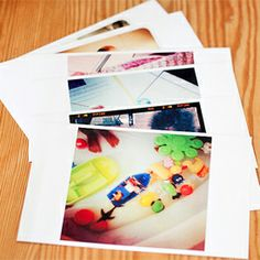 Get all those cool photos off your phone to use in projects. I explain how you can print Instagram photos at home