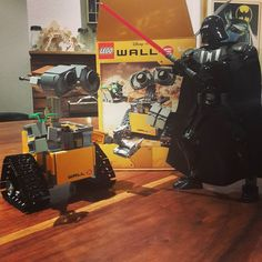 Lord Vader finds Wall-E's lack of faith disturbing