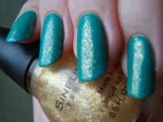 Sinful Colors - 24 Karat / PrettyGirlScience [Layered over Bellatrix-Emerald]