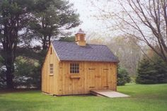 Our 12'x 16' Saltbox Garden Shed.  www.countrycarpenters.com