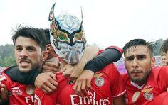Festejo Raul Gimenez 2017 dando a Vitória do Benfica TAÇA PORTUGAL