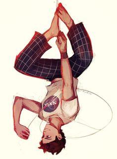 marvel fanart Spidey by cute-electrocute on DeviantArt Hero Marvel, Marvel Avengers, Spiderman Marvel, Marvel Universe, Steven Universe, Marvel Fanart, Spiderman Kunst, Spiderman Drawing, Marvel Drawings