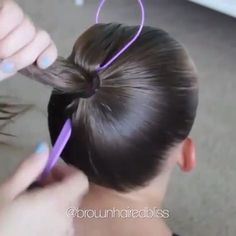 There are a lot of people out there that think they're hair isn't as great as it used to be. This is due to the fact that people neglect their hair and lose Ponytail Styles, Curly Hair Styles, Natural Hair Styles, Fancy Hairstyles, Braided Hairstyles, Hairstyle Ideas, Girl Hair Dos, Magic Hair, Hair Dye Colors