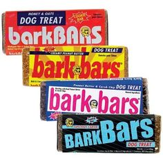 Dog cookies that look like retro candy bars. Remember when candy bars were this big?