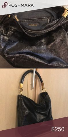 7da1f52a0f Shop Women s Yves Saint Laurent Black size 13 x 13 Shoulder Bags at a  discounted price at Poshmark.