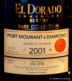 El Dorado and their high-end collection, the Rares, continue to inspire head scratching bafflement – they get issued with such a deafening note of silence that we might be forgiven for thinki… Rum Rum, Aged Rum, Pencil Shavings, Pot Still, Strawberry Ice Cream, 70th Anniversary, 16 Year Old, Raisin, Whiskey Bottle