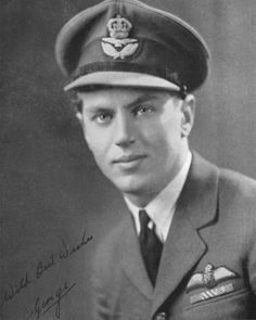 "George ""Buzz"" Beurling, most successful Canadian fighter pilot of WWII."