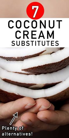 Looking for Coconut Cream substitutes when you run out of it in your kitchen? Coconut cream is truly a magical ingredient that can work wonders in so many different dishes. Well, worry no more. In this article you will find plenty of good quality coconut cream substitutes that will surely make your dish extra special. Check this out! #coconutcream #coconut #alternativeingredient #tastyrecipe #healthyrecipe #healthy #vegan #vegetarian #quickrecipes #easyrecipes #homemade #deliciousrecipes Quick Recipes, Gourmet Recipes, Healthy Desserts, Healthy Recipes, English Food, Ice Cream Recipes, Curry Recipes, Coconut Cream, Food Inspiration