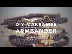 Makramee Armband DIY Anleitung & Technik - YouTube