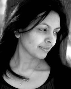 Sakina Ballard #black #white #portrait #actress