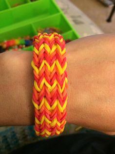 How to Make a Rainbow Loom Triple Fishtail