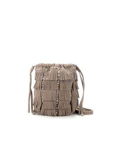 MINI MESSENGER BAG WITH FRINGES - Messenger bags - Handbags - Woman - ZARA United States
