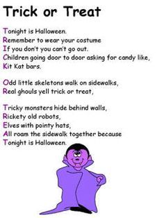 halloween poems adults