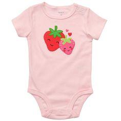 Carter's infant girl onesie  short sleeve