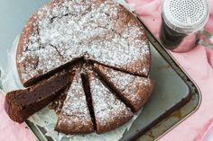 The ultimate gluten free dessert recipe. Thermomix Chocolate Fudge cake.