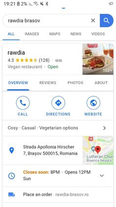 מסעדה טבעונית בברשוב Image Map, Vegan Restaurants, Vegetarian Options, Lutheran