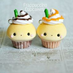Super cute frapuchino cupcakes!
