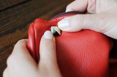DIY a Valentino-inspired clutch. Photos by Lia Schryver.