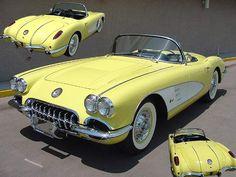 1958 Corvette Panama Yellow