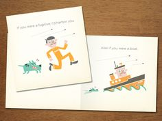 Even More Greeting Cards by Chad Geran, via Behance