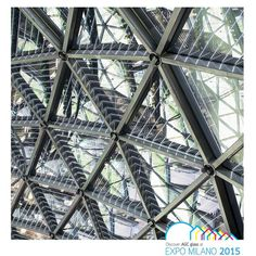 #photovoltaic #agcglass for #geodesic dome of #belgianpavilion at #expo2015