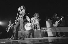 English rock group Free performing at the Royal Albert Hall, London, 11th February 1972. Left to right: Andy Fraser, Paul Rodgers and Paul Kossoff (1950 - 1976).