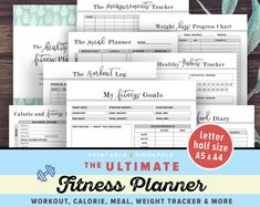and fitness losing weight and fitness motivation and fitness planner and fitness workouts weight 10 pounds weight fat burning weight food 21 Tage Diät Tracker Sheet 6 Seiten Bundle Pack Druckversion Calorie Tracker, Diet Tracker, Exercise Tracker, Health Planner, Fitness Planner, Workout Planner, Planner Pages, Printable Planner, Printables