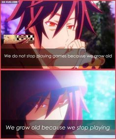 No Game No Life: *sniff* words.of.wisdom. Sora .
