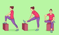 8 Easy Moves That Can Make Your Body Feel Younger - Whats Trend Yoga Fitness, Health Fitness, Yoga Position, Plank Pose, Dog Poses, Lack Of Energy, Easy Workouts, Glutes, Yoga Poses