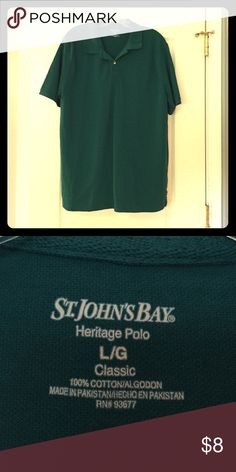 St. John's Bay Polo St. John's Bay heritage polo. In excellent condition! St. John's Bay Shirts Polos