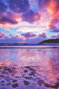 "lagunavibe: "" Tidal sunset """