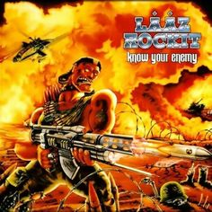 Lääz Rockit - Know Your Enemy 1987 Power/Thrash Metal 80s Metal Bands, 80s Hair Metal, Lp Cover, Cover Art, Classic Library, Heavy Metal Rock, Metal Albums, Star Wars, Best Albums