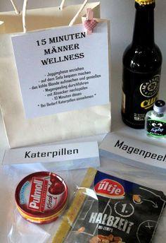 DIY, Basteln: 15 Minuten Männer Wellness in Geschenke aus der Küche und Geschenkideen für Männer - DIYCarinchen