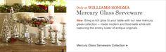 Mercury Glass Serveware