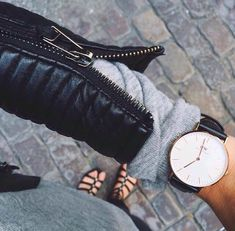 Daniel Wellington watch - Keenan bought me this exact one for Xmas and I love <3