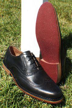 Sebago Brattle II in Smooth Black Men Dress, Dress Shoes, Men's Fashion, Oxford Shoes, Smooth, Lace Up, Footwear, Black, Formal Shoes