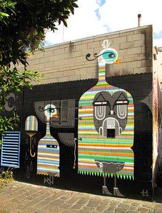 Entre o graffiti e o design