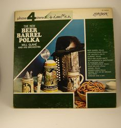 Vinyl LP Album - Will Glahe and his Orchestra - Beer Barrel Polka - London record release - Polka Record cover sleeve Very Good Condition.
