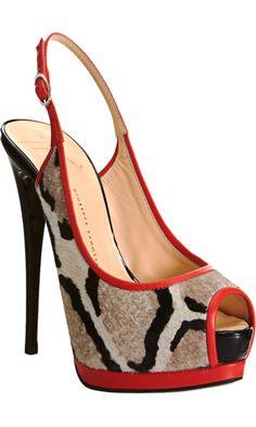 Giuseppe Zanotti Slingback Platform Sandal