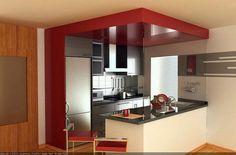 Cocinas americanas, una solución para pisos pequeños