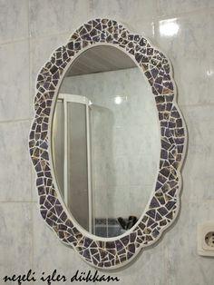 Neşeli İşler Dükkanı: ...Mozaik Ayna...